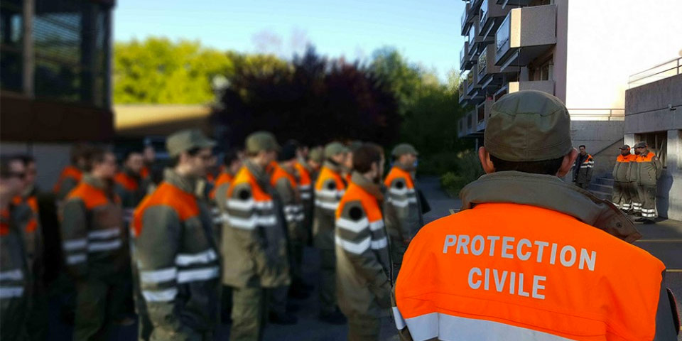 Collaborateurs Etat Major, Protection civile Morges