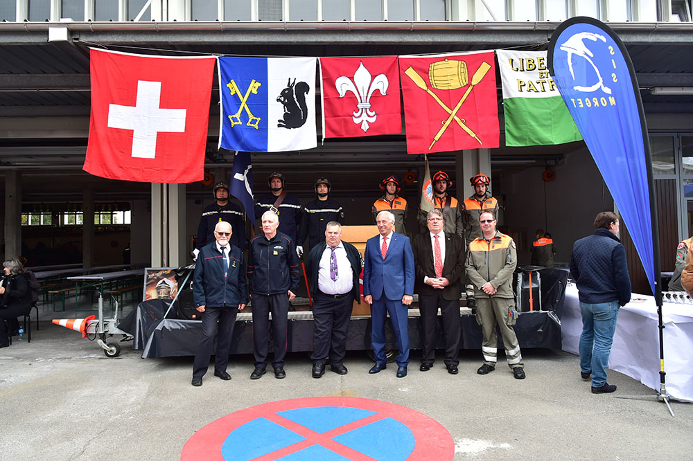 Protection civile Morges - Inauguration