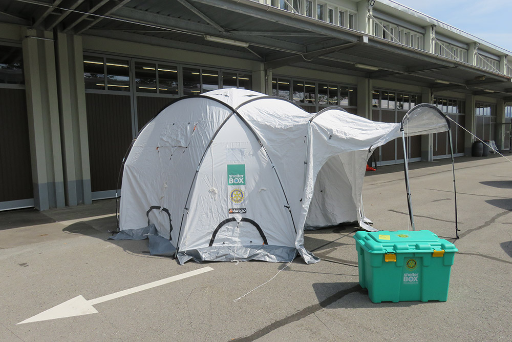 Shelterbox -Protection civile Morges