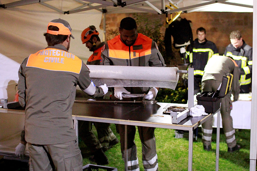Exercice Synergia - Protection civile Morges