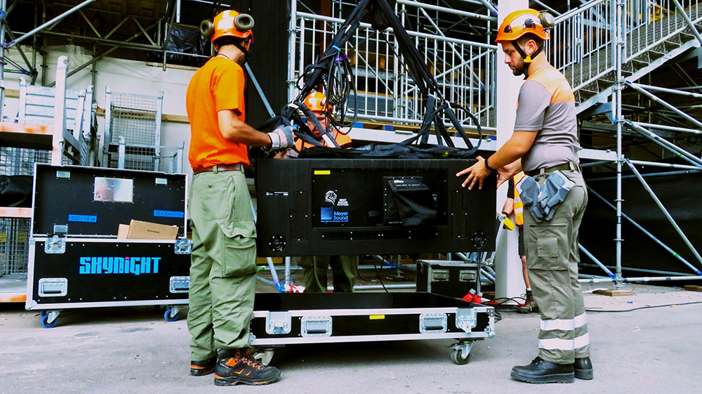 Protection civile Morges Fevi - Flightcase